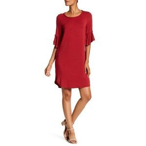 Max Studio bell sleeve shift dress